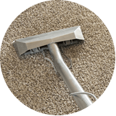 We are the carpet cleaning experts