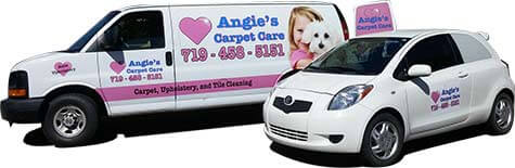 Angies has specialized equipment to better clean your carpets