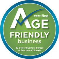 Angie's Carpet Care is Better Business Bureau Age Friendly Certifed